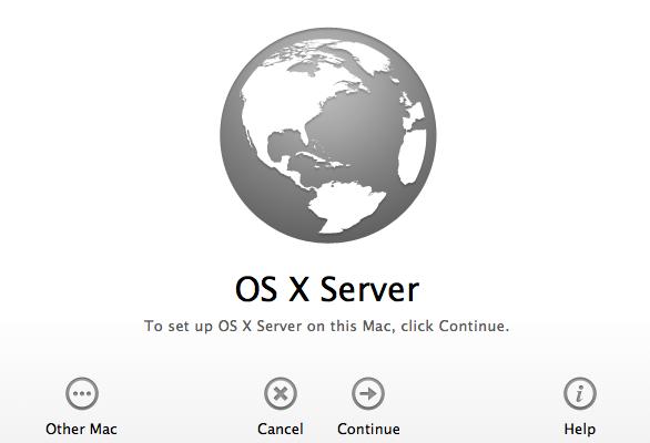 Configurer Mac OS X Serveur